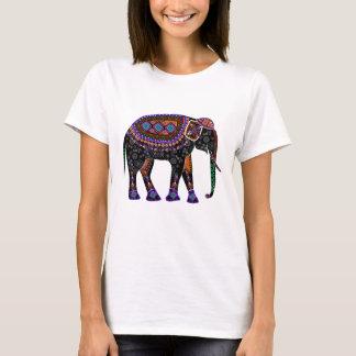 Camisa com elefante preto