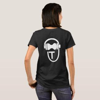 Camisa com o logotipo de TEnsko - traseiro -