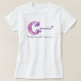 Camisa conhecida do monograma do significado das