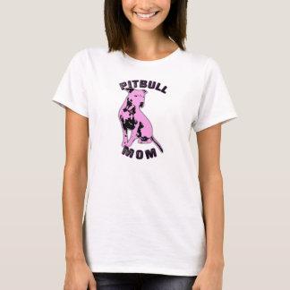 Camisa cor-de-rosa da mamã de Pitbull
