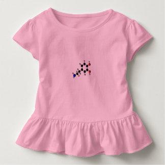 camisa cor-de-rosa das meninas de 6Tymes9 Dopemine
