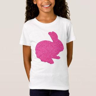 Camisa cor-de-rosa do coelhinho da Páscoa da