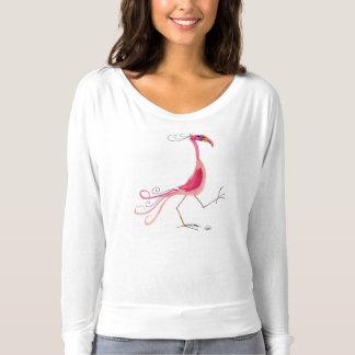 Camisa cor-de-rosa do flamingo