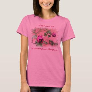 Camisa cor-de-rosa do irlandês selvagem