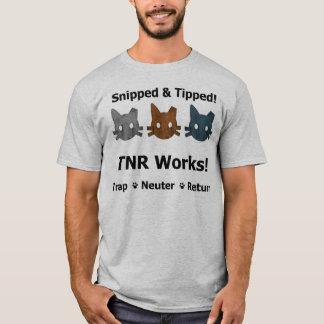 Camisa cortada & derrubada de TNR