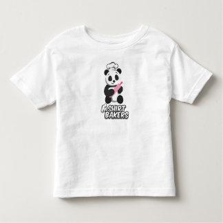 Camisa cozida da panda