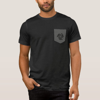 Camisa cripto do bolso do emaranhado do IOTA