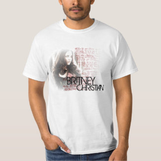 Camisa cristã da imagem de Britney Camiseta