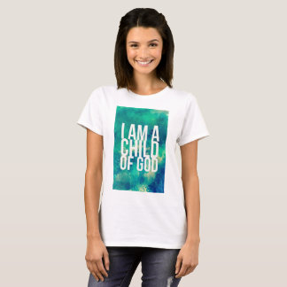 Camisa cristã: Eu sou uma criança do deus