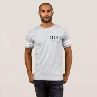 Camisa Cruel-t do futebol