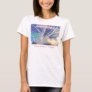 Camisa cruzada do céu de Chemtrails
