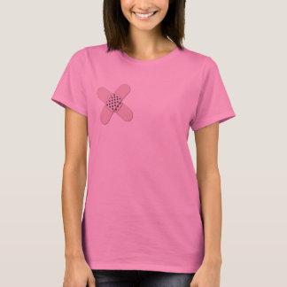 Camisa cruzada engraçada da mastectomia das