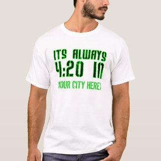 Camisa Customisable de HIP HOP