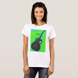 Camisa customizável #2 do Ukulele: Verde no limão