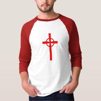 Camisa customizável da cruz celta T do cruzado