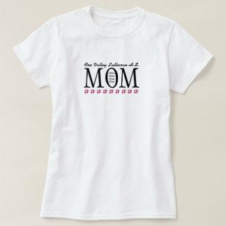 Camisa customizável da mamã de FVL - 4 crianças