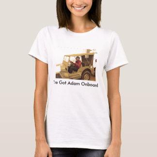 Camisa da academia do FBO para as senhoras