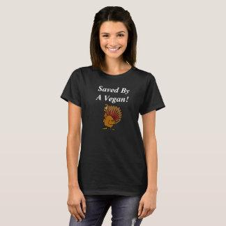 Camisa da acção de graças do Vegan