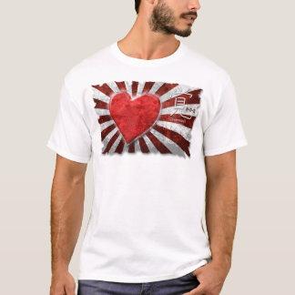 Camisa da ajuda humanitária do tsunami do