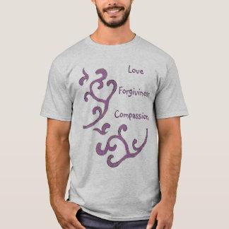 Camisa da Amor-Piedade-Remissão, teste padrão