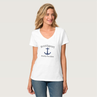 Camisa da âncora de mar do Southport North