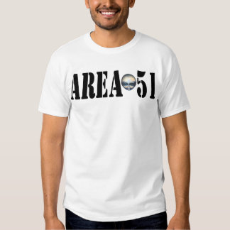 Camisa da ÁREA 51 Tshirt