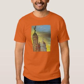Camisa da arte de Capitolio do cubano Tshirts