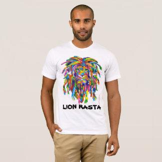 Camisa da arte T de Rasta Rastafarian Dreadlocks