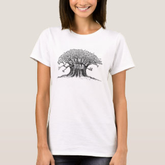 Camisa da árvore da estrada de Drymill