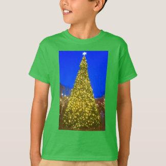 Camisa da árvore de Natal das crianças