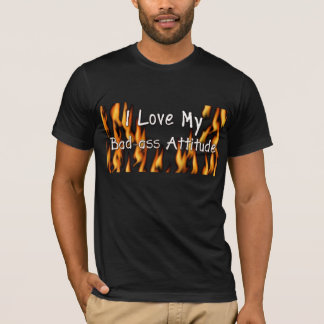 Camisa da atitude do Mau-Burro