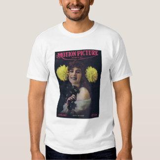 Camisa da atriz do filme silencioso de Anita Camisetas