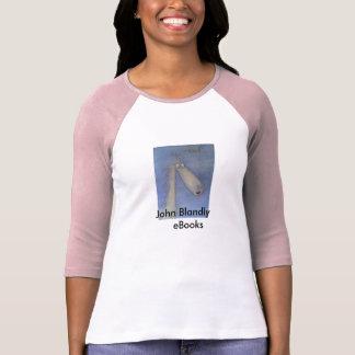 Camisa da aventura do eBook das meninas Tshirt