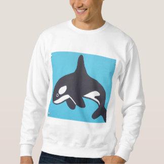 Camisa da baleia dos homens