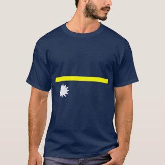 Camisa da bandeira de Nauru