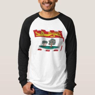 Camisa da bandeira de Prince Edward Island Camisetas