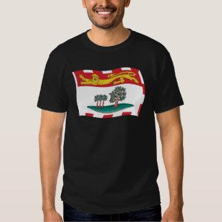 Camisa da bandeira de Prince Edward Island T-shirts