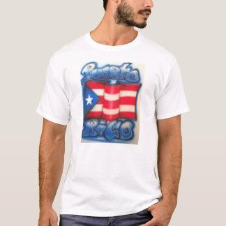 Camisa da bandeira de Puert Rican