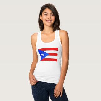 Camisa da bandeira de Puerto Rico