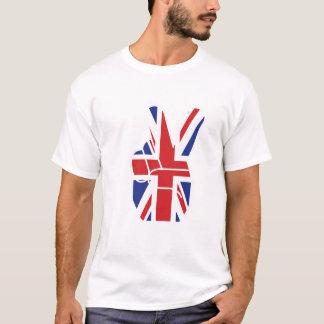 Camisa da bandeira de união T