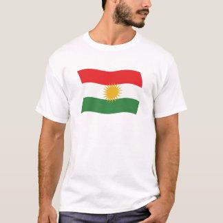 Camisa da bandeira do Curdistão