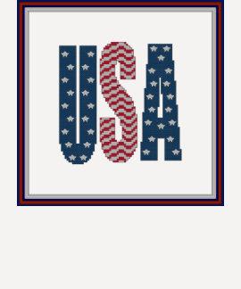 Camisa da bandeira dos Estados Unidos dos EUA T-shirts
