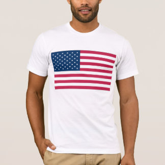 Camisa da bandeira dos EUA