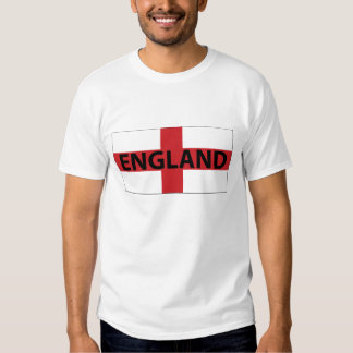 Camisa da bandeira T de Inglaterra Camisetas