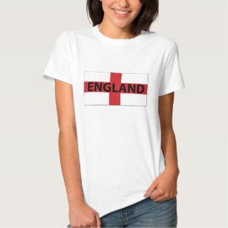 Camisa da bandeira T de Inglaterra T-shirts