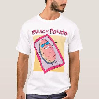 Camisa da batata da praia