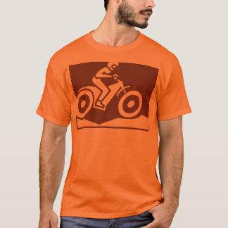 Camisa da bicicleta da sujeira