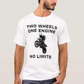 Camisa da bicicleta da sujeira - nenhuns limites