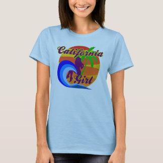 Camisa da boneca da menina de Califórnia