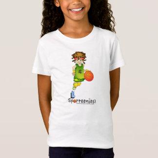 Camisa da boneca do basquetebol